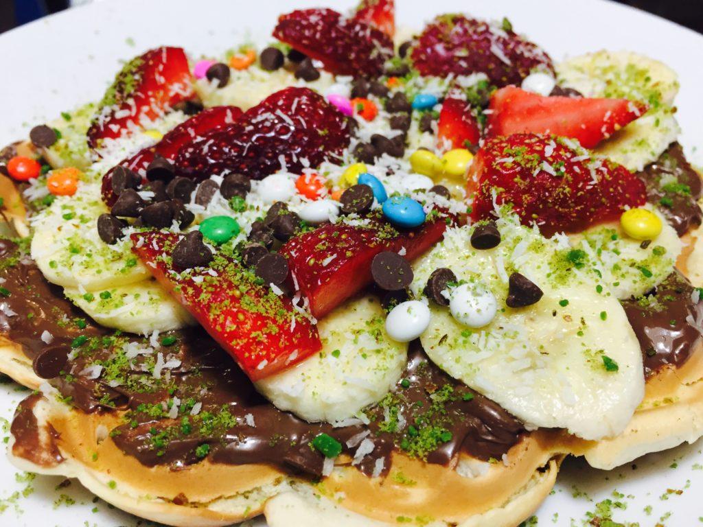 Waffle dünyası kervan cafe