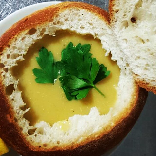 kervan ekmekli çorba